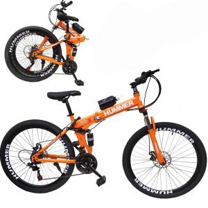 Wire Hummer 26 Inch Bicycle Orange GM23-o-HV