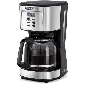 Black+Decker 900w 12 Cup Programmable Coffee Maker DCM85-B5-HV