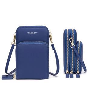 Forever Young Multifunctional Crossbody and Shoulder Bag For Women, Blue-HV