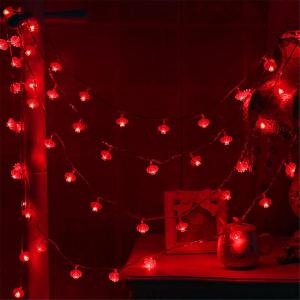Chinese Red Lantern LED String Lights 3m -HV