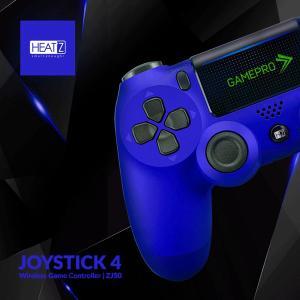 Heatz ZJ50 Joystick4 Gamepro Wireless Game Controller, Blue-HV