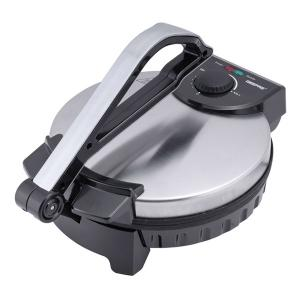 Geepas GCM6125 Chapati Maker Non-Stick Coating Lightweight & Compact Design 1200w-HV