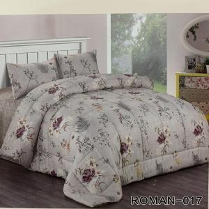 Roman King Size Comforter Set 4 pcs- 017-HV