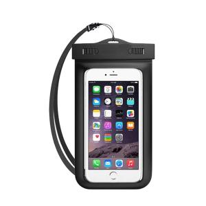 GO LIFE Top Selling IP68 Waterproof Under Water Mobile Phone Touchscreen Transparent Pouch With Tag-HV
