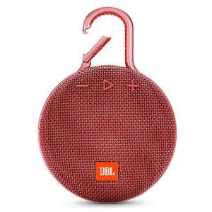 JBL CLIP 3 Portable Bluetooth Speaker, Red-HV