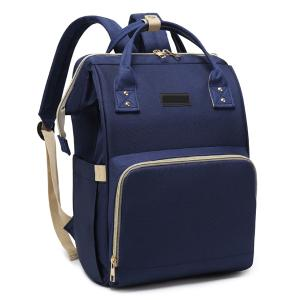 Diaper Bag Backpack and Multifunction Travel Backpack, Water Resistance and Large Capacity, Navy Blue-HV