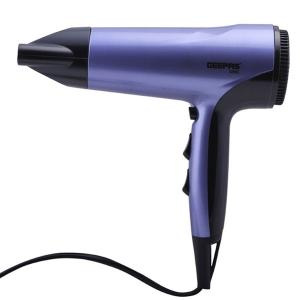 Geepas GHD86017 Hair Dryer 1800w Ionic Fast Drying With 3 Heat Settings-HV