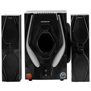 Olsenmark OMMS1157 2.1 CH Multmedia Speaker with Remote Control-HV