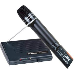 Olsenmark OMMP1240 Wireless Microphone with Reciever System-HV