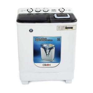 Clikon CK603-N Semi Automatic Washing Machine, 10KG-HV