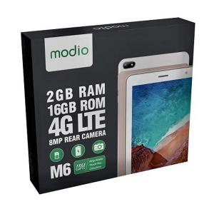 Modio M6 Tablet 2GB RAM 16GB Storage 4G-HV