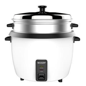 Sharp Rice Cooker 1.0L White KS-H108G-W3-HV