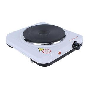 Olsenmark OMHP2095 Electric Single Hot Plate, White-HV
