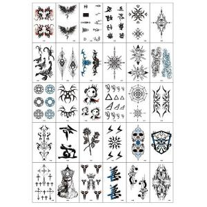 Temporary Tattoo stickers for Men and Women-HV