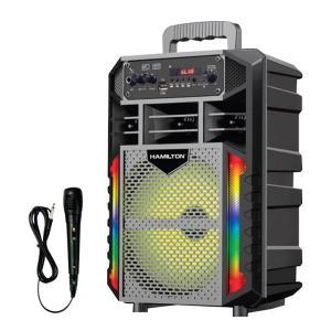 Hamilton HT-6602 Portable Speaker With Digital Display -HV