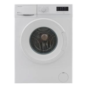Sharp ES-FE812CZ-W Front Loading Washing Machine, 8Kg-HV