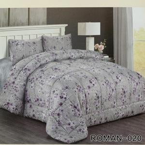 Roman King Size Comforter Set 4 pcs- 020-HV