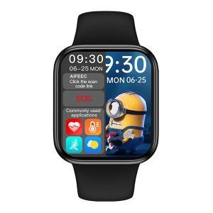 HW16 Series 6 Pro Smart Watch (2021 New Arrival), Black-HV