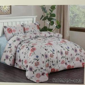 Roman King Size Comforter Set 4 pcs- 023-HV
