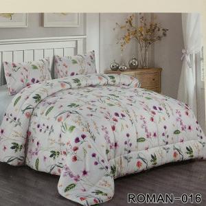 Roman King Size Comforter Set 4 pcs- 016-HV