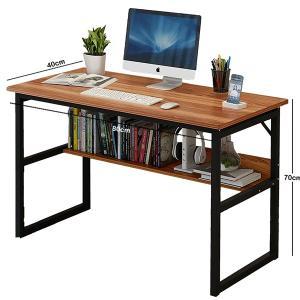 Simple Desk For Livingroom Brown GM549-1-br-HV
