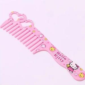 Hello Kitty Plastic Princess Comb Love Heart-HV