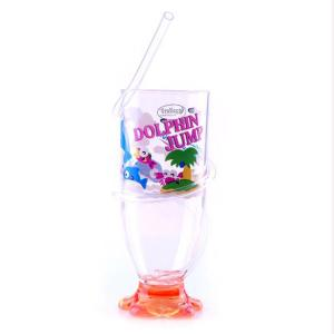 Royalford RF6166 Transparent Acrylic Glass with Straw-HV
