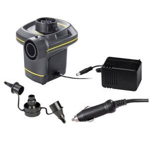 Intex 66634 Quick-Fill Electric Air Pump With Car Adapter & DC Pump-HV