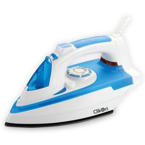 Clikon CK4107 Ceramic Plate Electric Steam Iron Box with Self Clean Function-HV