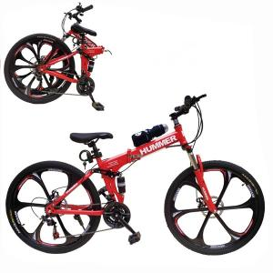 Aluminium Hummer 24 Inch Bicycle Red GM52-r-HV