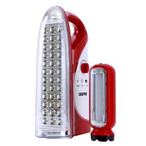 Geepas GEFL4664 Rechargeable Led Lantern With Torch 1600mah-HV