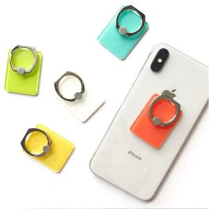Finger Ring Holder Stand for Mobile Phone, Assorted Color-HV