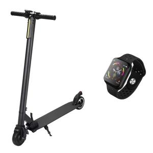 FOR ALL FX 6 Electric Foldable scooter with F9 Smartwatch-HV