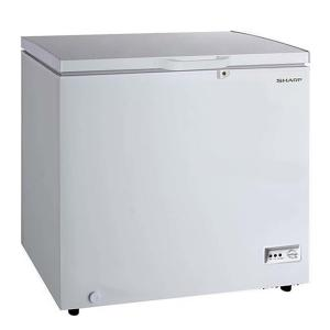 Sharp SCF-K190X-WH3 Free Standing Chest Freezer, 190L-HV