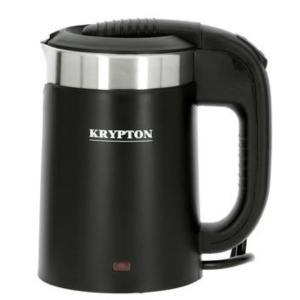 Krypton KNK6152 0.5 L Steel Electric Kettle, Black-HV