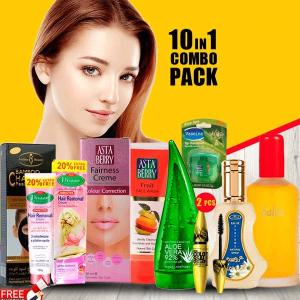 10 in 1 Ladies Beauty Combo Pack-HV