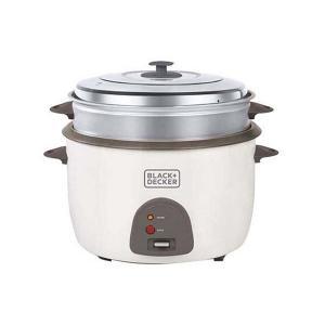 Black & Decker RC4500-B5 Non Stick Rice Cooker, 4.5L -HV