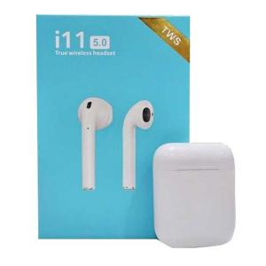 i11 Twin Bluetooth Headset With Charging Case-HV