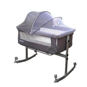 Sweet Dreams Besides Co Sleeper With Mosquito Net Grey GM385-grey-HV