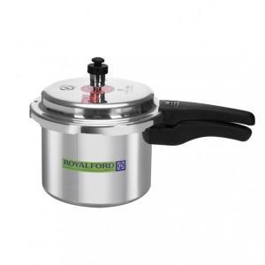 Royalford RF5801 Aluminium Pressure Cooker, 3L-HV