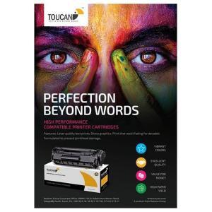 Toucan Black Toner Cartridge Compatible with Hp CB540A/CE320A/CF210A-HV
