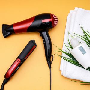 Geepas GHF86036 Hair Straightener And Hair Dryer Combo-HV