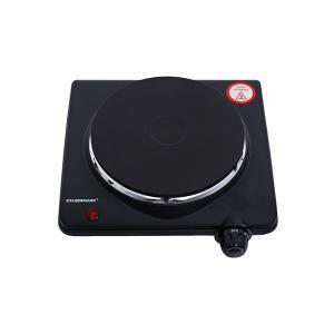Olsenmark OMHP2033 Electric Single Plate Cooktop, Black-HV