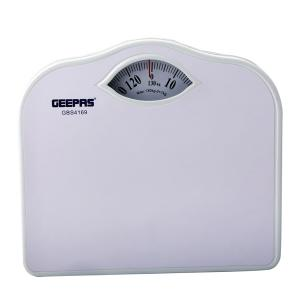 Geepas GBS4169 Mechanical Weighing Scale with Height and Weight Index Display-HV