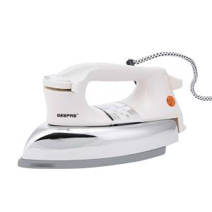 Geepas GDI7752 Light Weight Automatic Dry Iron, Gray Teflon Coating -HV