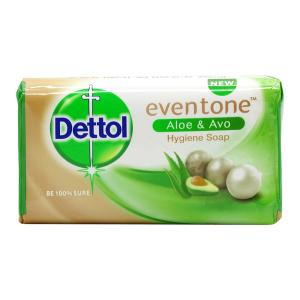 Dettol Eventone Aloe And Avo Hygiene Soap, 150 g-HV