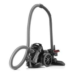 Black & Decker VM1480-B5 Bagless MultiCyclonic Canister Vacuum Cleaner, 1400W-HV