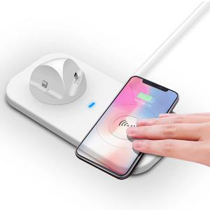 3 in 1 Fast Wireless Charging Dock  for iPhone Samsung and All Other QI Enabled Devices -HV