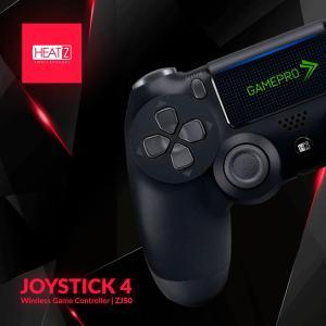 Heatz ZJ50 Joystick4 Gamepro Wireless Game Controller, Black-HV