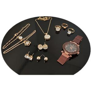 SIGNATURE COLLECTION 10 IN 1 JEWELLERY SET SK0405-HV